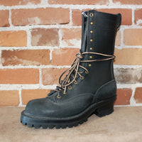 "10"" Hotshot Lace-up Firefighting Boot W/Roughout Heel And Toe-Atomic 79"