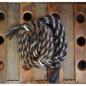 "1/2"" 22' Traditional Braided Horse Hair-Atomic 79"
