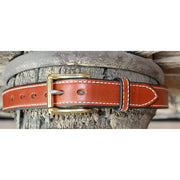 "1.25"" Tan Double Stitched Belt-Atomic 79"