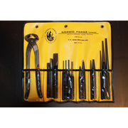 15 Piece Punch Chisel and Nipper Tool Roll Set-Atomic 79