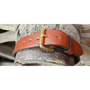 "1.5"" Unlined Brown Belt-Atomic 79"