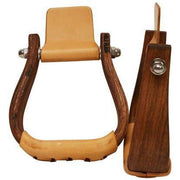 "2"" Petite Youth Duke Leather Stirrups-Atomic 79"