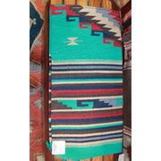 32x64 Acrylic Cantina Rug in Green and Red-Atomic 79