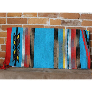 32x64 Feather Rug In Blue, Red And Black-Atomic 79