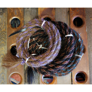 "3/8"" Horse Hair Colored Mecate-Atomic 79"