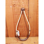 "3/8"" Natural Bosal W/Brown Noseband and 30 plait-Atomic 79"