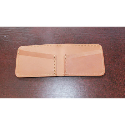 4-8 Leather Card and Bill Holder in Brown-Atomic 79
