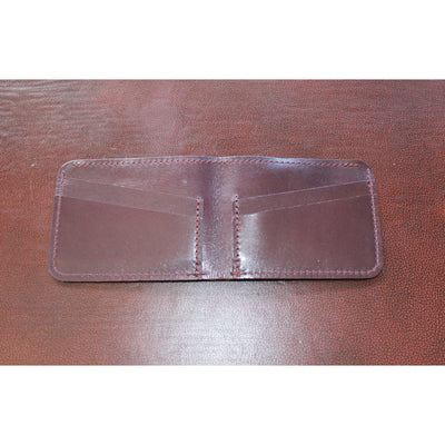 4-8 Leather Card/Bill Holder in Purple-Atomic 79