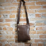 Athena Crossbody in Brown
