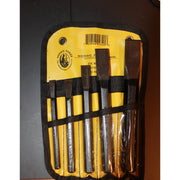 5 Piece Chisel Tool Roll-Atomic 79
