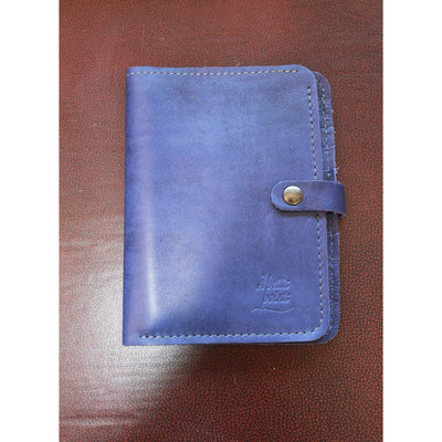 7 Card Master Wallets in Blue Leather-Atomic 79