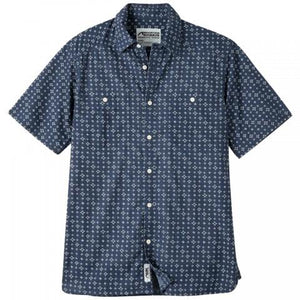 Ace Indigo Long Sleeve Shirt in Indigo Print-Atomic 79