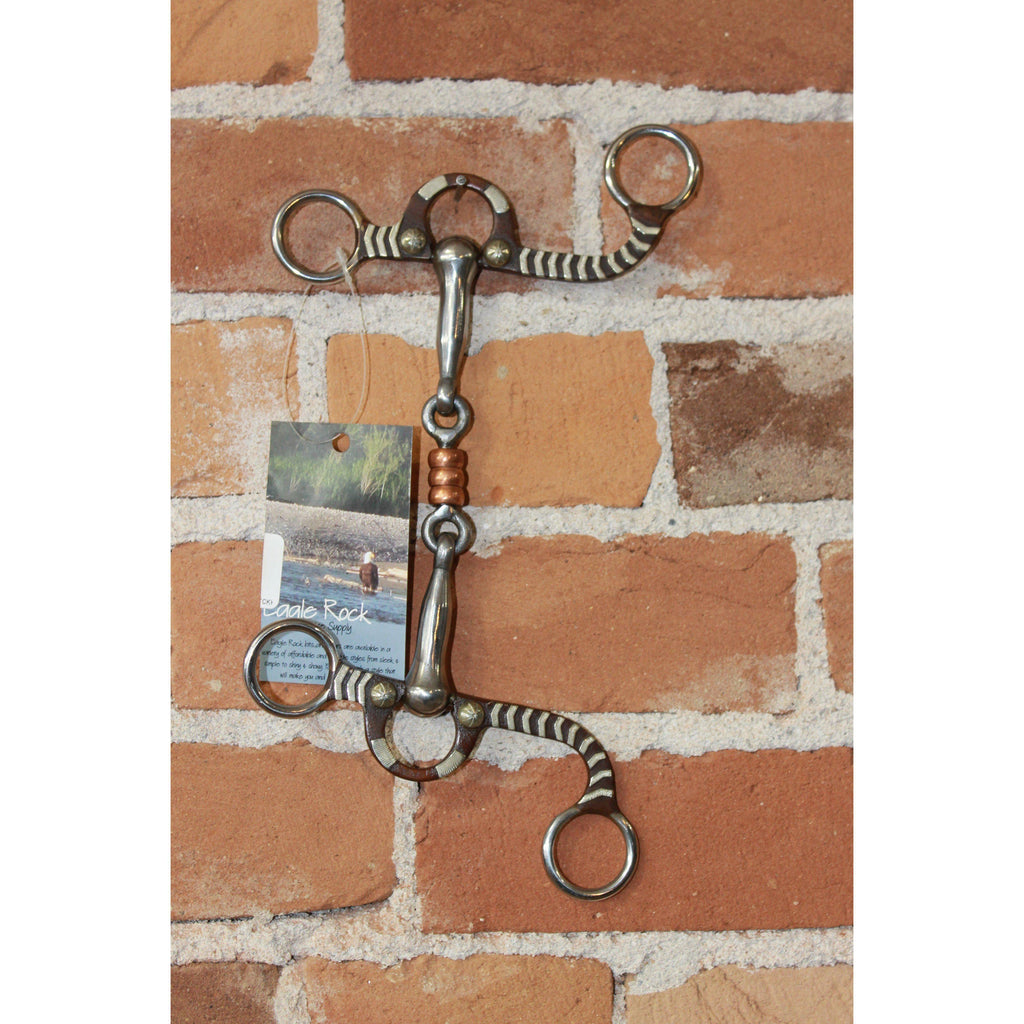 Antiqued Argentine Snaffle Bit-Atomic 79