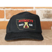 Atomic 79 Black Wool Hat W/Mt Emblem-Atomic 79