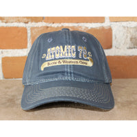 Atomic 79 Hat In Navy Wax W/Atomic 79 Script-Atomic 79