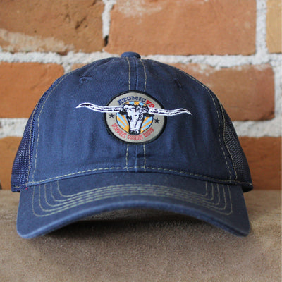 Atomic 79 Hat W/Steer Logo In Navy And Mesh-Atomic 79