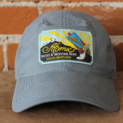 Atomic 79 Nylon Hat In Slate Blue W/Black Clip Strap-Atomic 79
