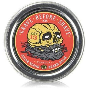Beard Balm Tin in Cigar/Vanilla-Atomic 79