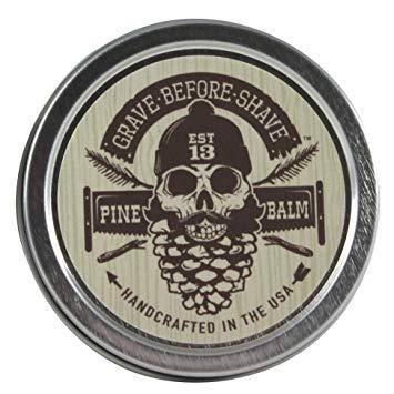 Beard Balm Tin in Pine Scent-Atomic 79
