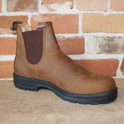 Blundstone Comfort Series V Cut in Crazy Brown-Atomic 79