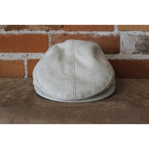 Cabby Hat In Oatmeal-Atomic 79