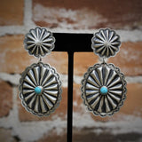 Campitos Turquoise Earrings-Atomic 79