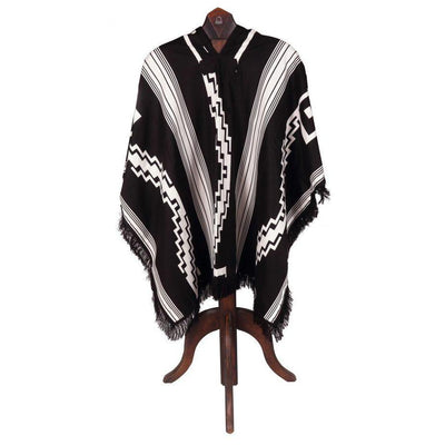 Classic Poncho W/Double Fabric-Atomic 79
