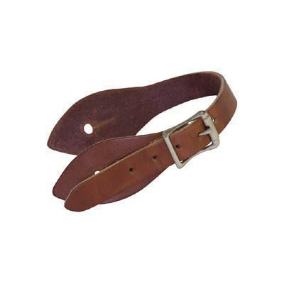 Cowboy Spur Straps in 7 Oz Saddle Leather-Atomic 79