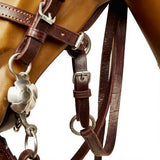 Dark Espresso Leather Bosal W/Leadline and Split Reins-Atomic 79