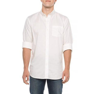Davidson Stretch Oxford Shirt in Linen-Atomic 79