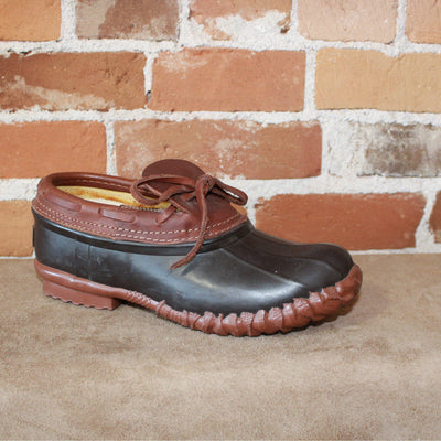 Duck Shoe W/Handmade Rubber Bottoms Steel Shanks and Traditional Tractor Tread Outsole-Atomic 79