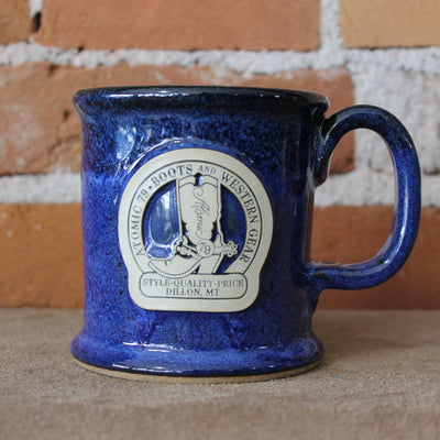 Executive Slim Mug In Blue Moon Glaze W/Atomic 79 Logo-Atomic 79