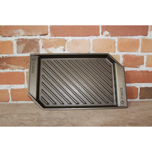 "Finex 15""cast Iron Lean Grill Pan-Atomic 79"