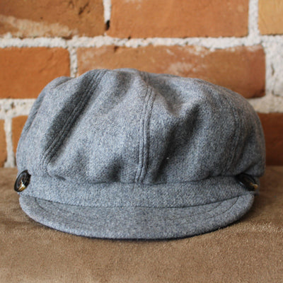 Gatsby Hat In Med Charcoal-Atomic 79