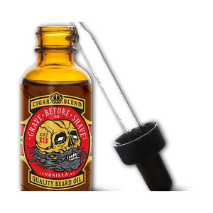 Grave Before Shave Beard Oil in Cigar-Atomic 79