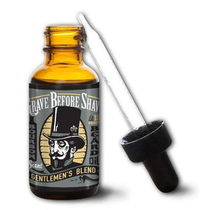 Grave Before Shave Beard Oil in Gentleman's Blend-Atomic 79