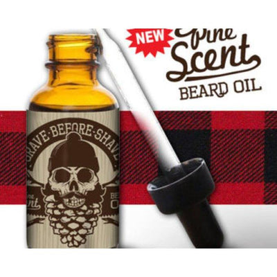 Grave Before Shave Beard Oil in Pine Scent-Atomic 79