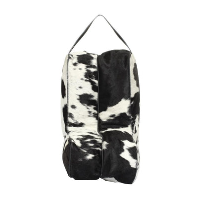 Hair On Two Toned Boot Bag-Atomic 79