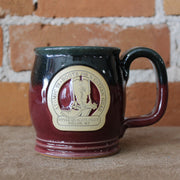 Happy Soul Mug In Black Cherry Glaze W/Atomic 79 Logo-Atomic 79