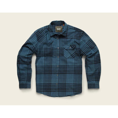 Harkers Flannel in Shadow Plaid and Sea Scape Blue-Atomic 79