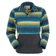 Heavy Fleece Multi Colored Audrey Henley-Atomic 79