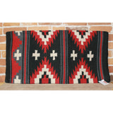 Heavy Primo Saddle Blanket In Black And Red Diamonds-Atomic 79