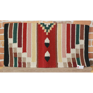 Heavy Primo Saddle Blanket In Red Multi-Atomic 79
