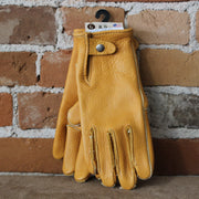 Heavy Weight Bison Work Gloves W/snap Back-Atomic 79