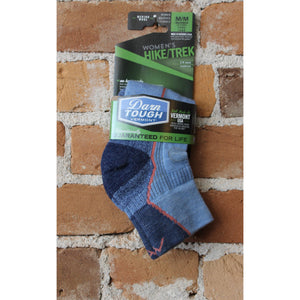 Hiker 1/4 Sock With Cushion In Denim-Atomic 79