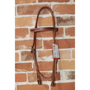 Horizon's Leather Browband and Headstall-Atomic 79
