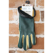 Junior Two-Toned Deerskin Bullrider Glove Left Hand-Atomic 79