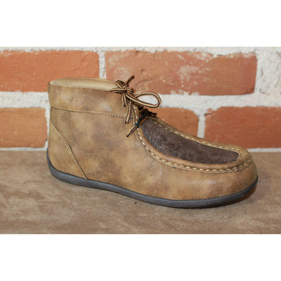 Kid's Casual Moc Style Leather Boot Size 3-Atomic 79