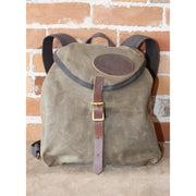 Knapsack in Waxed Canvas-Atomic 79