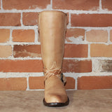 "Ladies 13"" Polo Style Boot W/ Wrap-Around Braided Strap-Atomic 79"